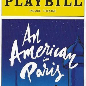 Playbill  An American in Paris  Robert Fairchild